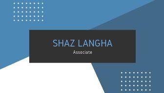 shaz langha card